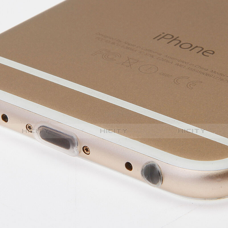 Tapon Antipolvo Lightning USB Jack J03 para Apple iPhone 11 Pro Blanco