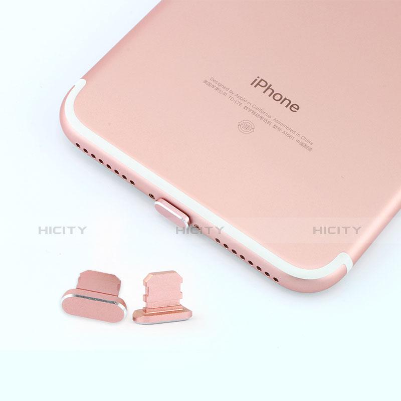 Tapon Antipolvo Lightning USB Jack J06 para Apple iPhone 11 Pro Gris