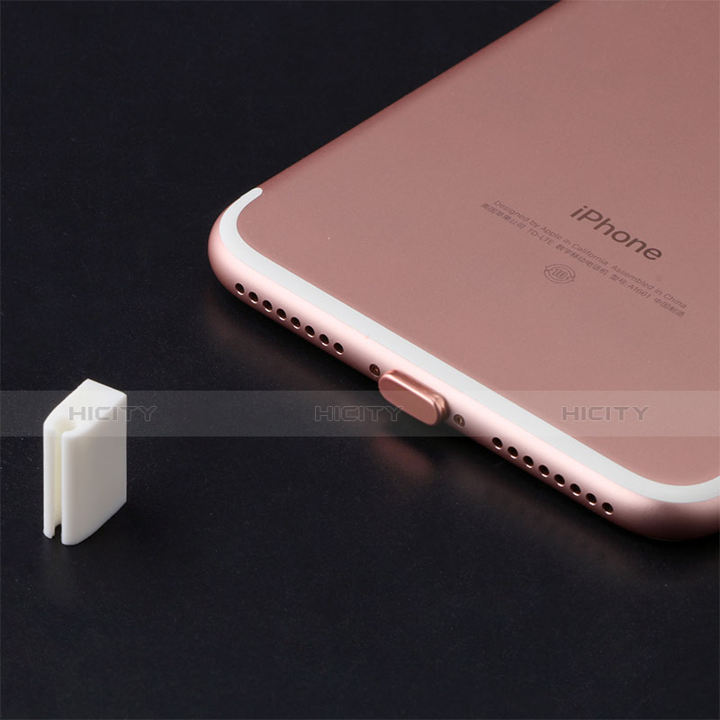 Tapon Antipolvo Lightning USB Jack J07 para Apple iPhone 11 Negro