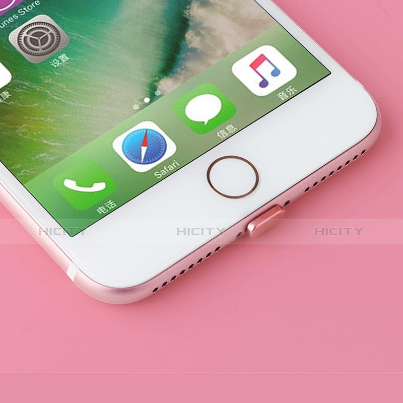Tapon Antipolvo Lightning USB Jack J07 para Apple iPhone 11 Oro Rosa
