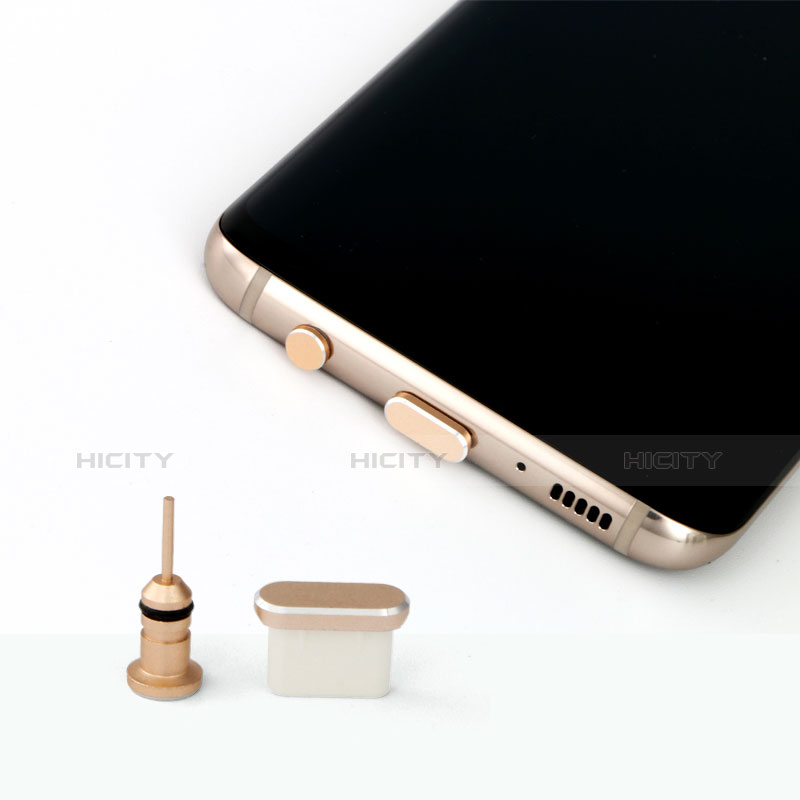 Tapon Antipolvo USB Jack Android Type-C Universal Plata